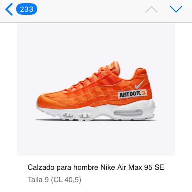 the latest 3627e 0970f Nike Air Max 95 Just do it
