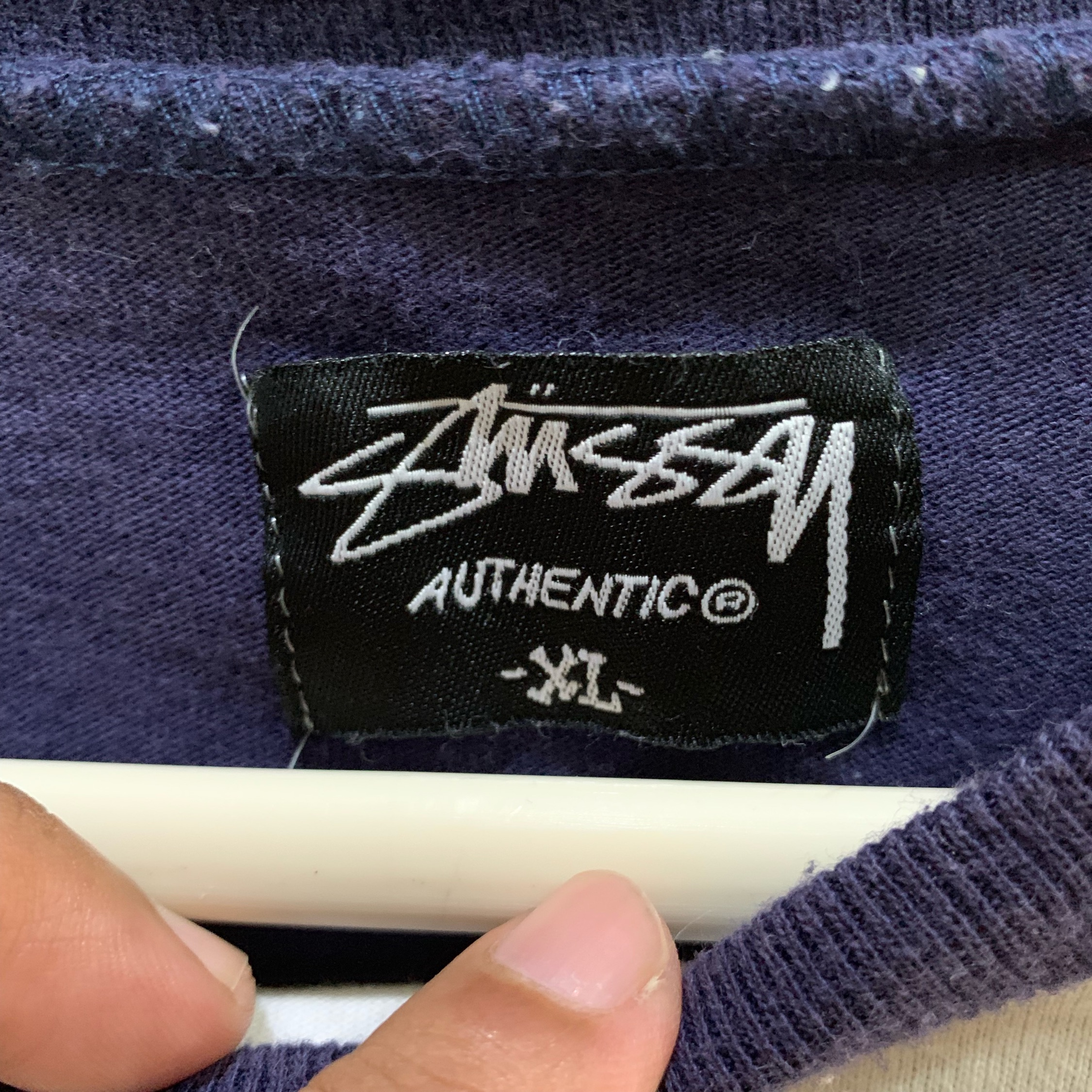 Stussy Authentic Long Sleeve Tee Size Xl Fits L