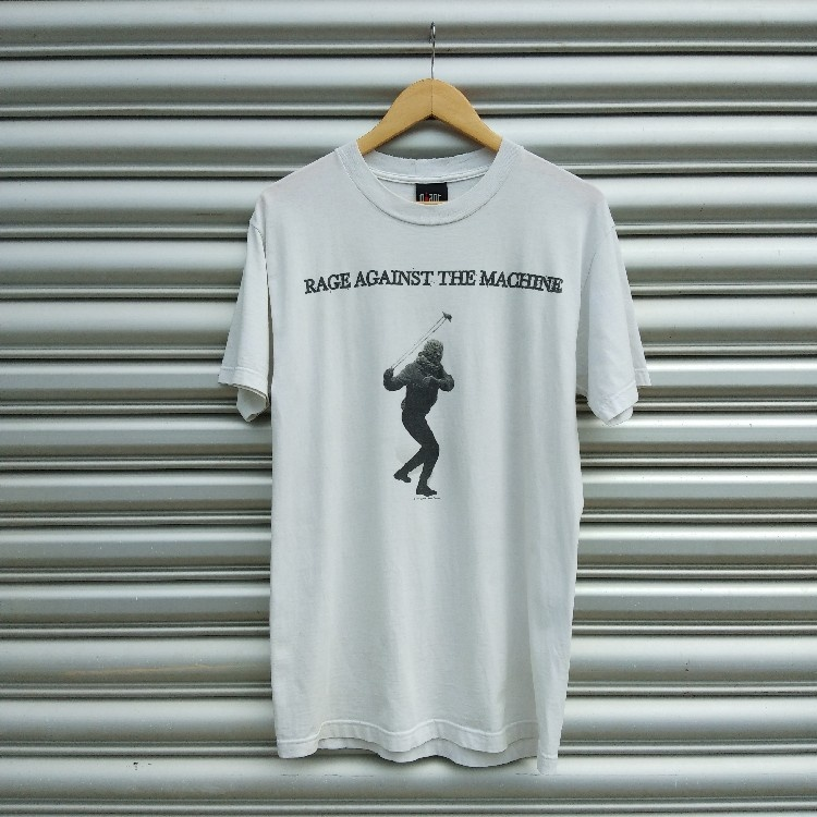 VINTAGE 90'S RAGE AGAINST THE MACHINE BAND TEE