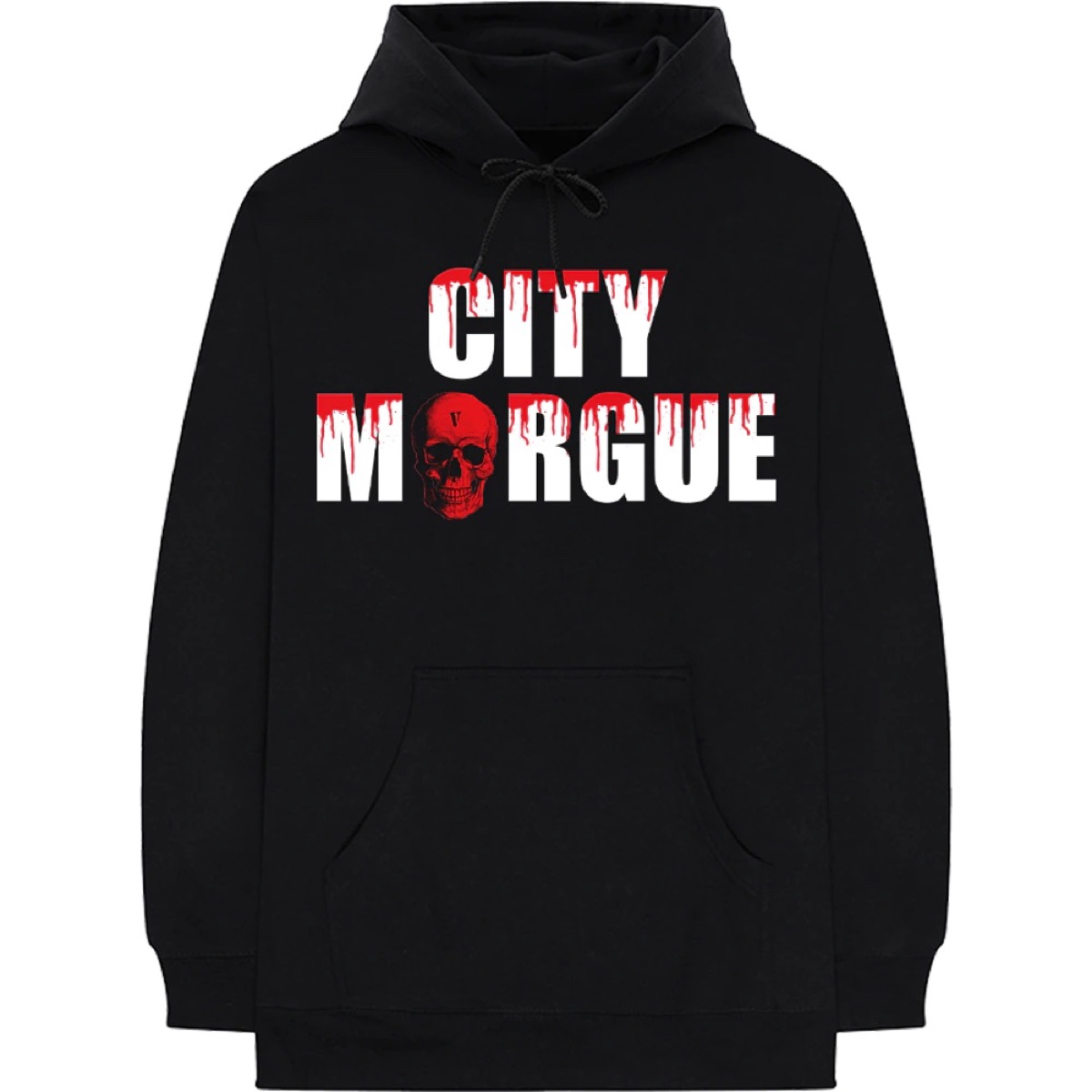 Vlone x City Morgue Dogs Black Hoodie Large