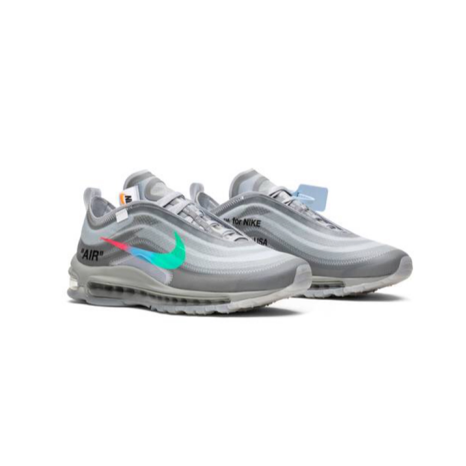 cheap for discount 4c532 5d647 Nike Off White Air Max 97 Menta