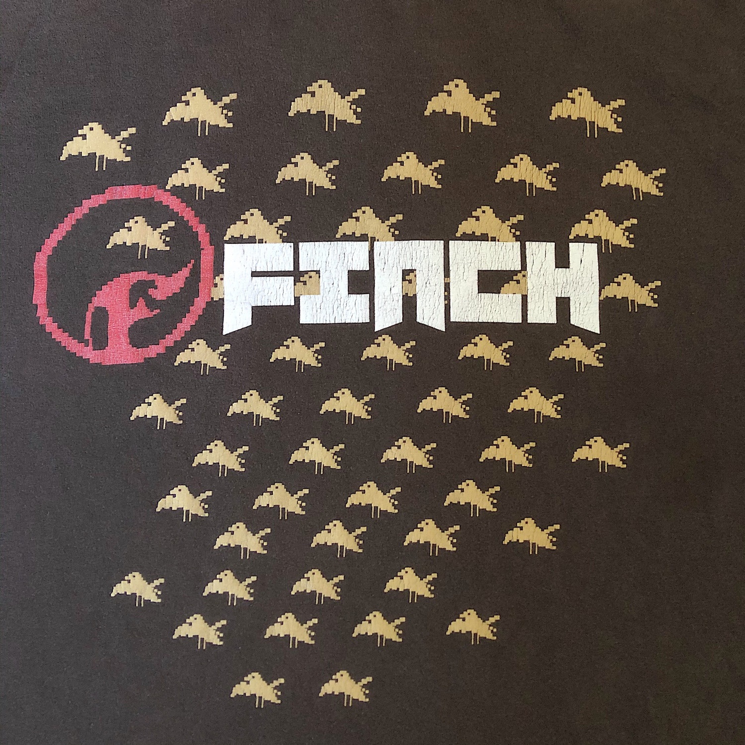 Vintage Finch Bird T-Shirt