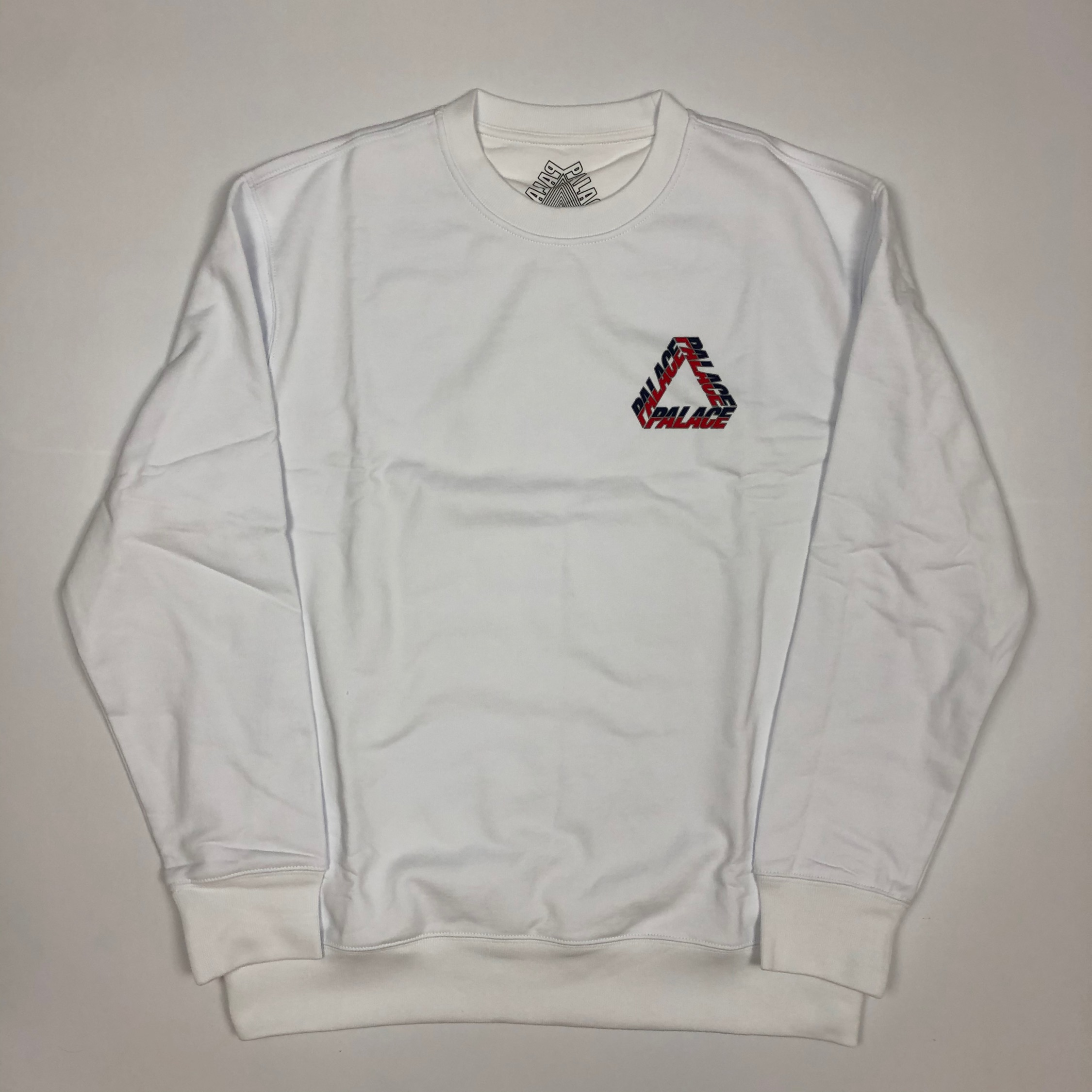 Palace Split P3 Crew White