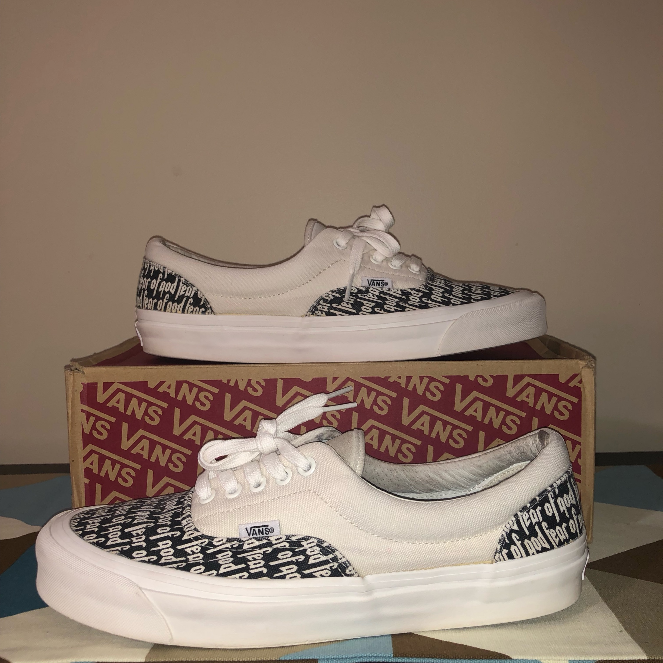Fear Of God Vans Marshmallow Size 11 Used
