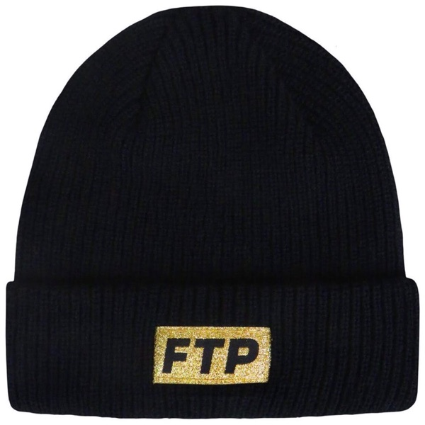 Ftp 10 Year Logo Beanie Black Ss20