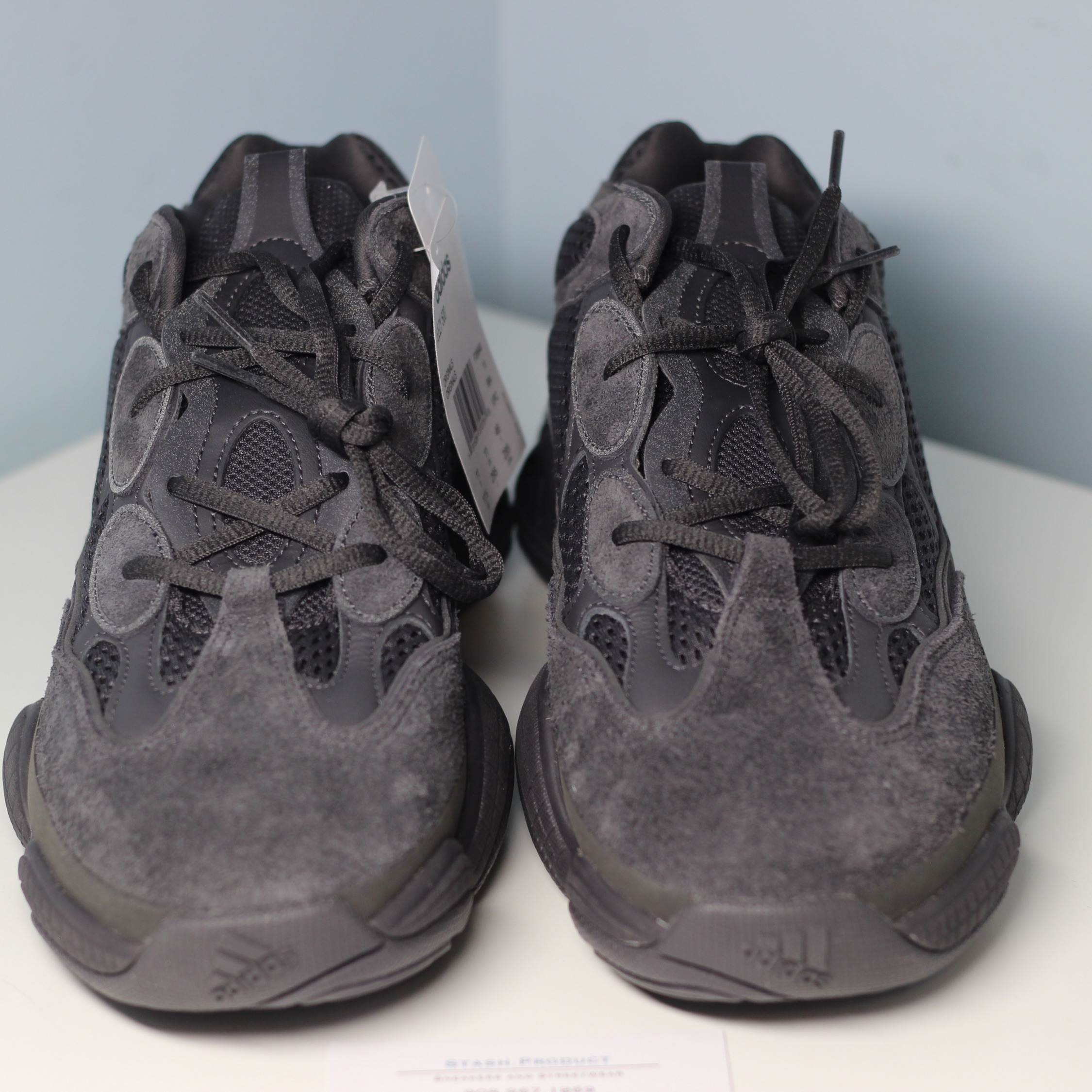 detailed look 3dbae 44282 Adidas Kanye West Yeezy 500 Utility Black Sz 11.5