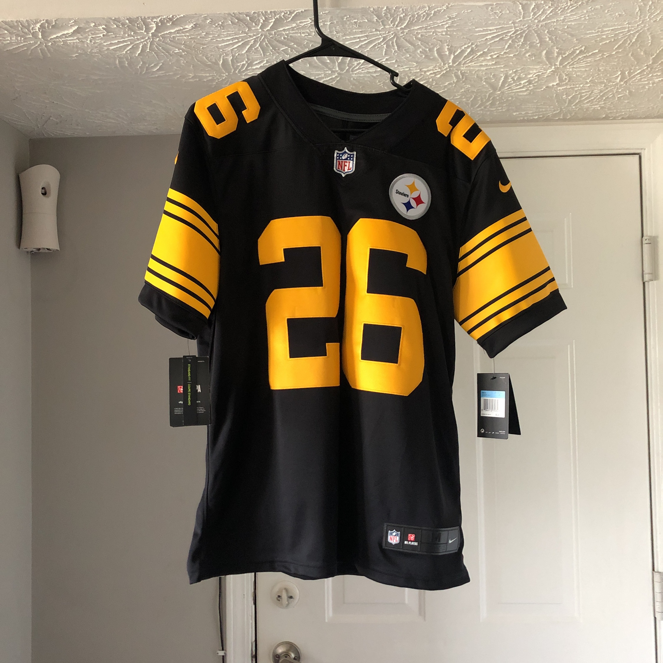 timeless design dc6c5 2604b Le'veon Bell Nike Steelers Jersey