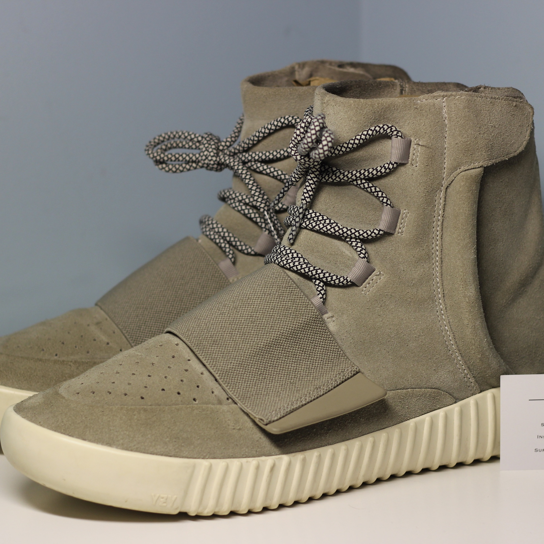 04390abff93da Adidas Kanye West Yeezy Boost 750 Og Light Grey 12