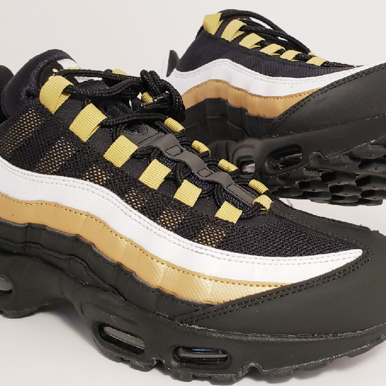97a27e3d6f Nike Air Max 95 OG Size 9.5 Mens/11 Wmns 'Black Gold' AT2865-002