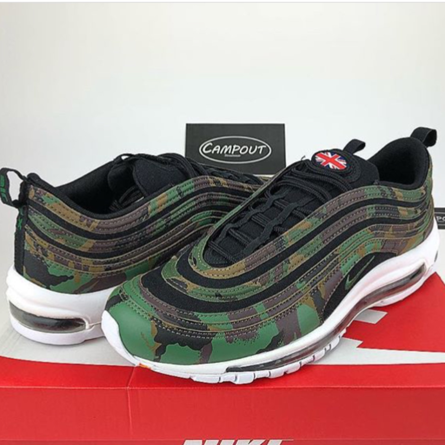 best loved fd32c 8642f Nike Air Max 97 Camo Uk