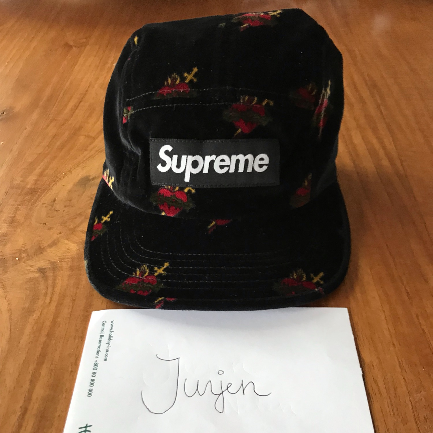 Supreme Sacred Hearts Camp Cap
