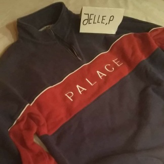 Palace Quart Funnel Navy