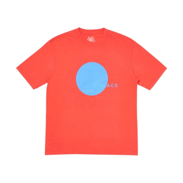 Palace Skateboards Spot T-Shirt In Red X-Large