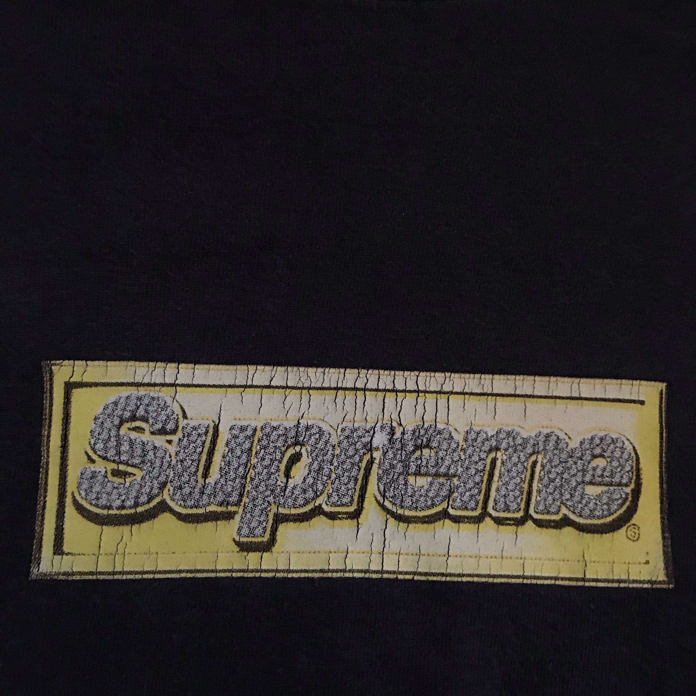 Ss13 Supreme Bling Box Logo Tee