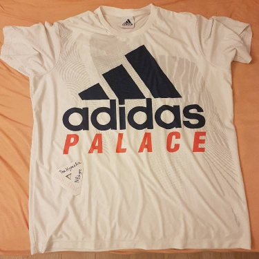 Palace X Adidas On Court Interview White XL Tee