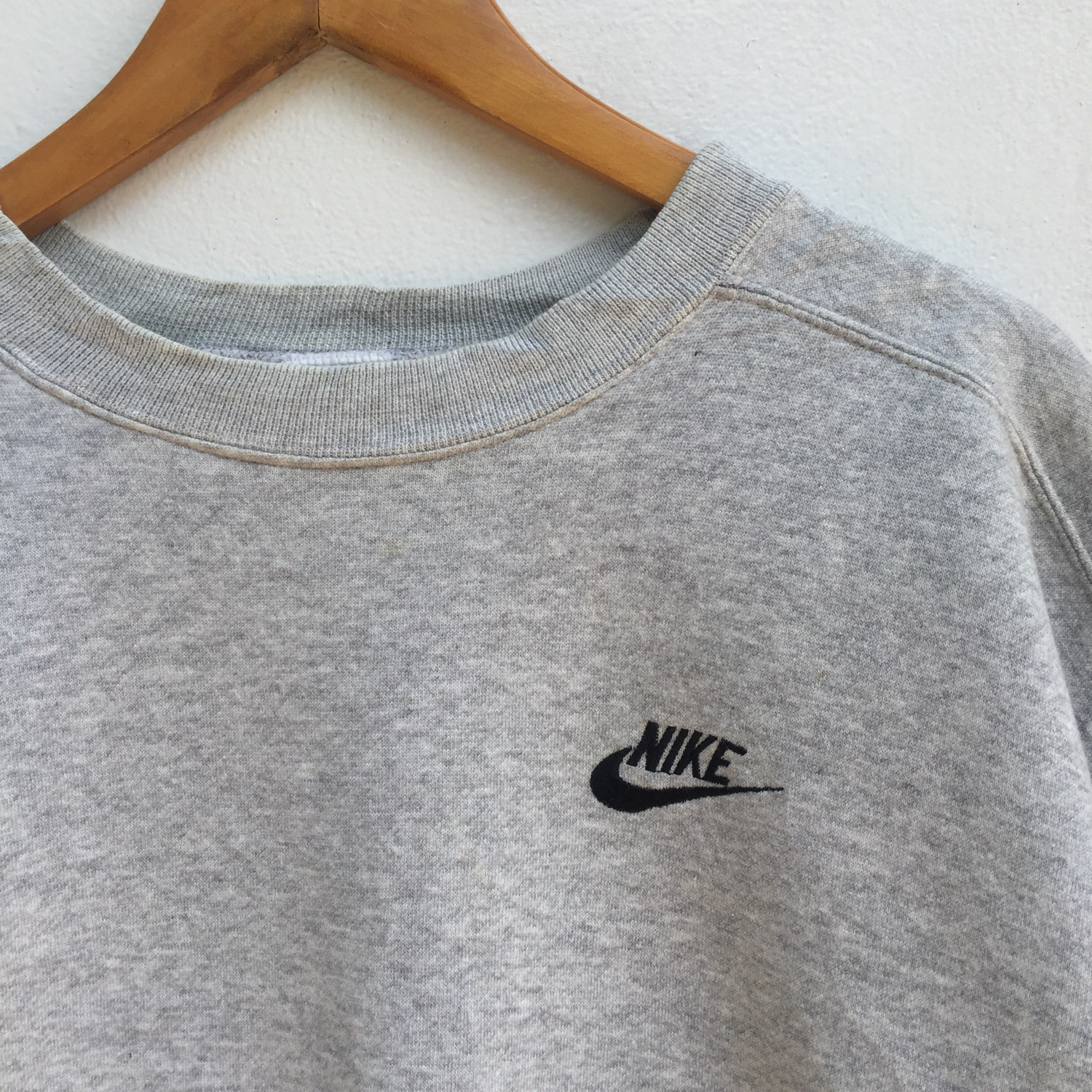 Vintage Nike Sweatshirt Embroidery Small Logo