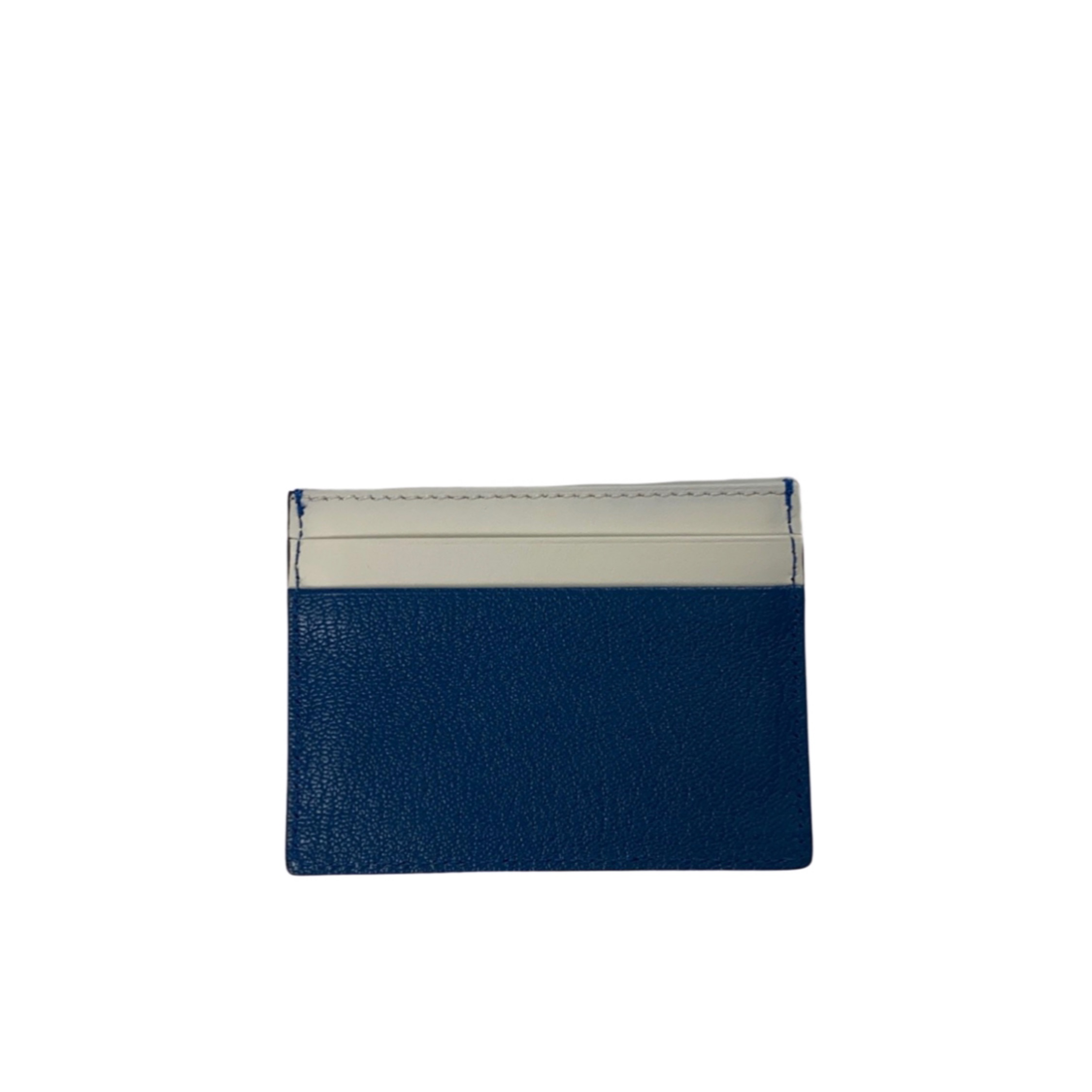 Burberry Blue & White Cardholder Brand New