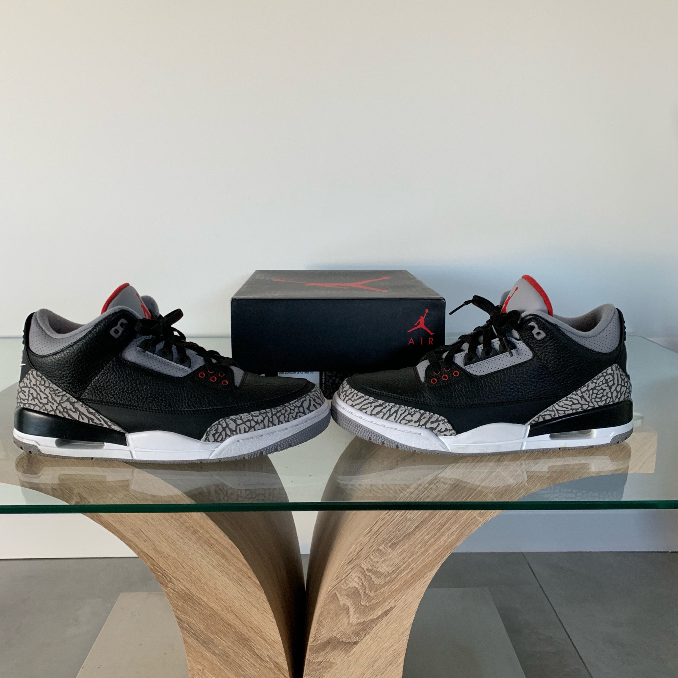 on sale 0e1a9 56a4b Jordan 3 Black Cement (Looking For Trades)