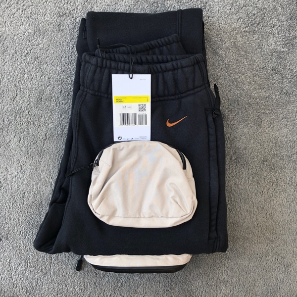 Travis Scott Nike NRG AG Utility Sweatpants Black
