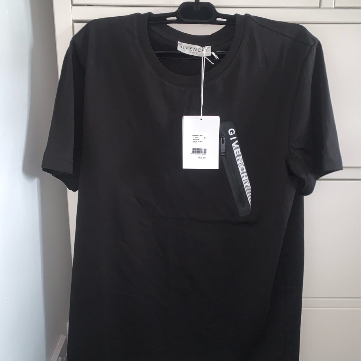GIVENCHY T-SHIRT WITH ZIPPED POCKET