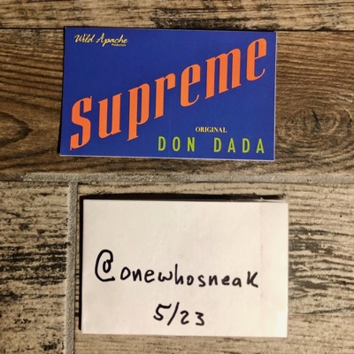 "Supreme ""Don Dada"" Sticker (Ss14)"