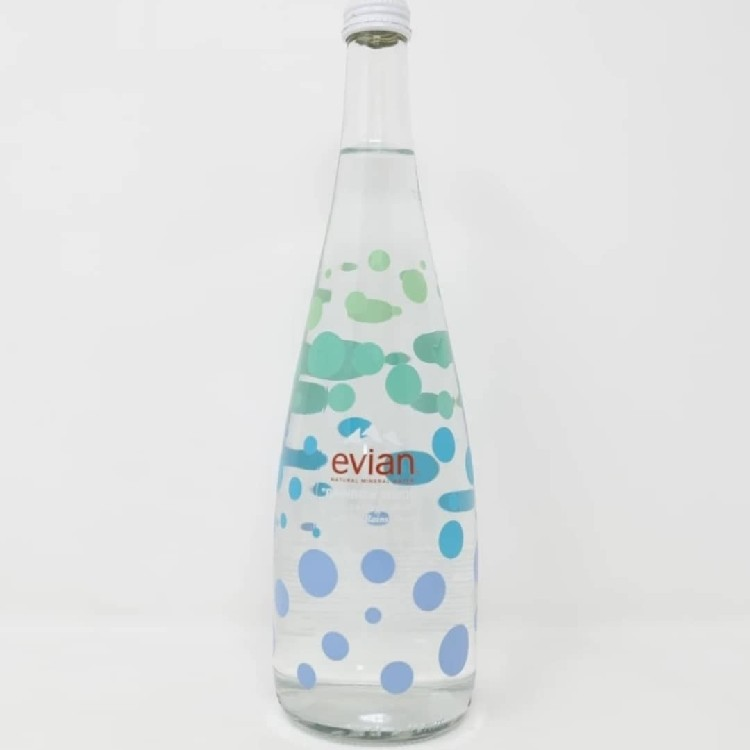 Evian c/o Virgil Abloh Glass Water Bottle, 9 Available