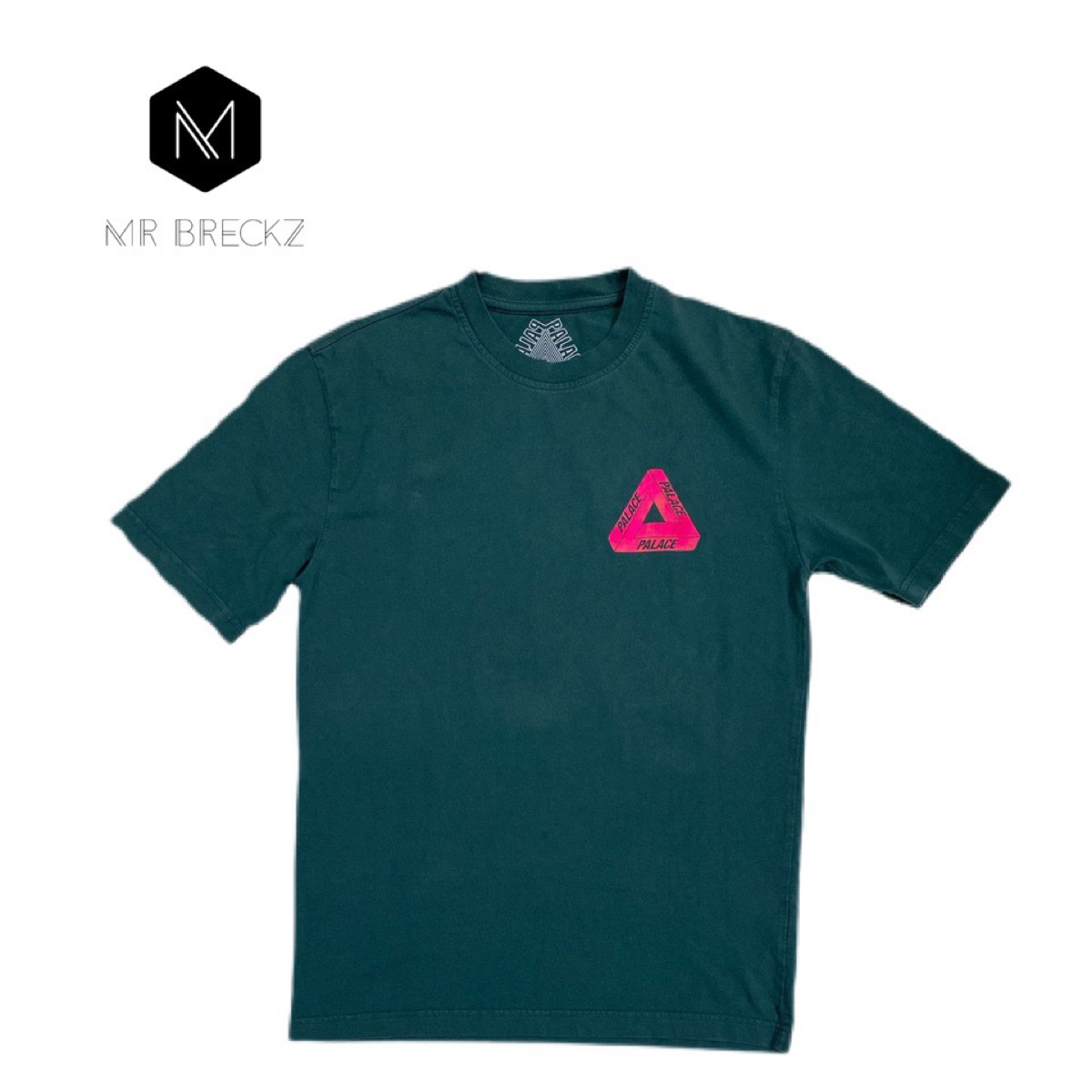 Authentic palace green tee