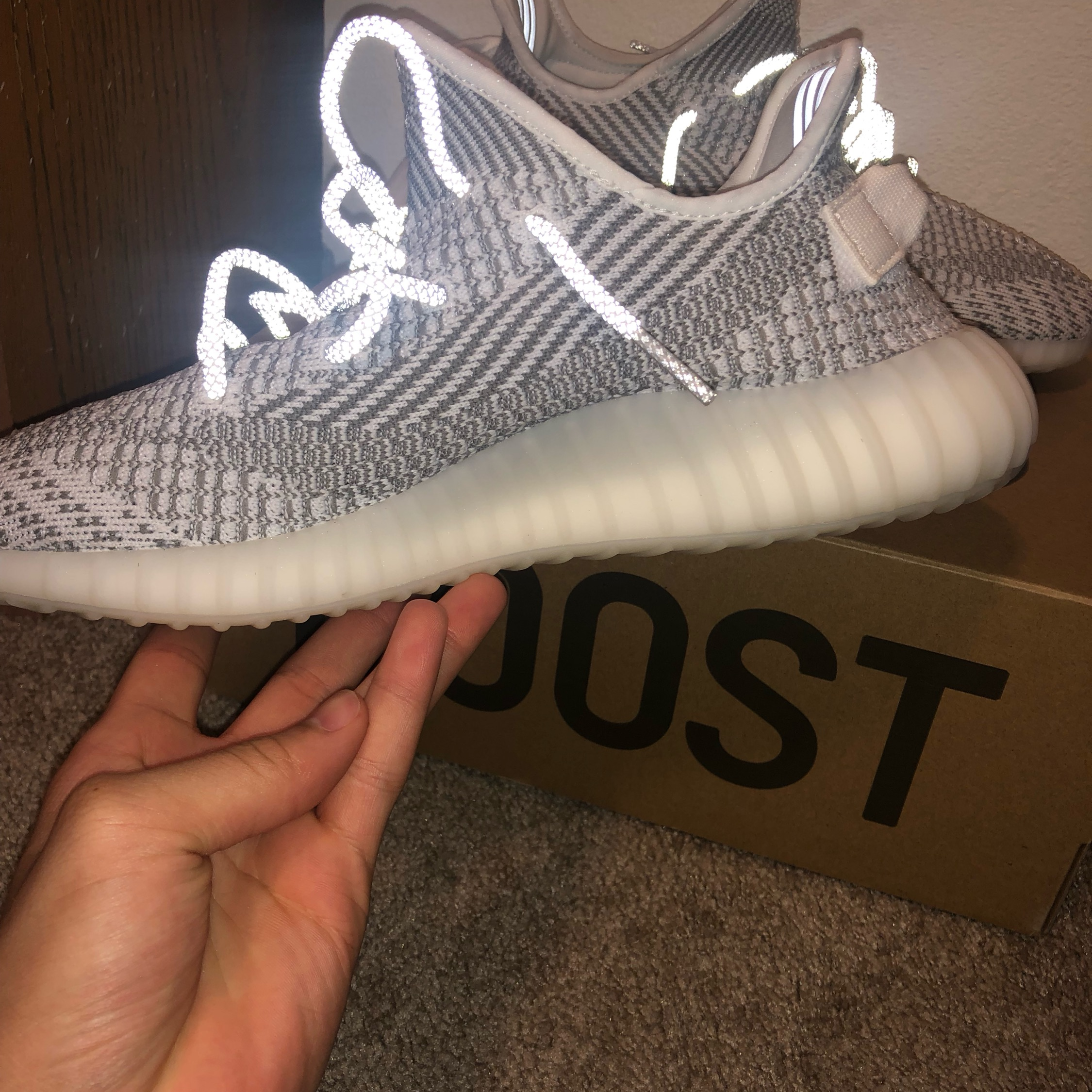 newest 157a9 a1a19 Adidas Yeezy Boost 350 V2 Static Non-Reflective