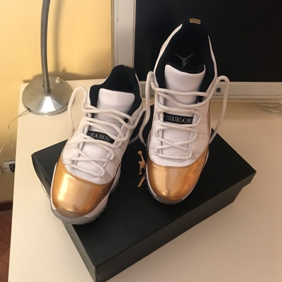"Jordan 11 Low Olympic Gold "" Closing Ceremony """