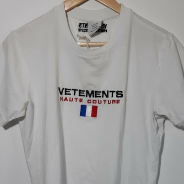Vetements Haute Couture T Shirt White