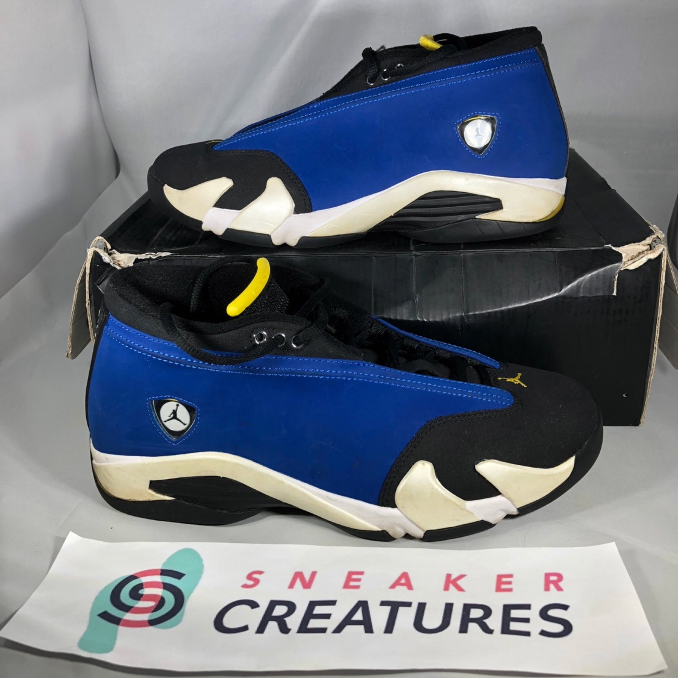 2ae524c7a74520 Nike Air Jordan 14 Laney Low 2015 9.5