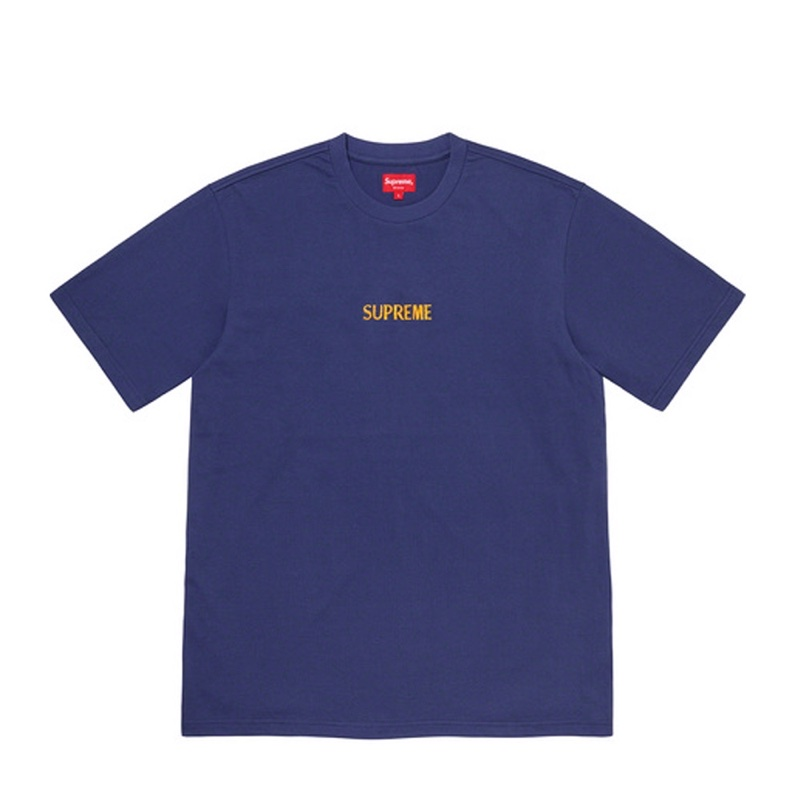 Supreme Bullion Logo SS Top Navy