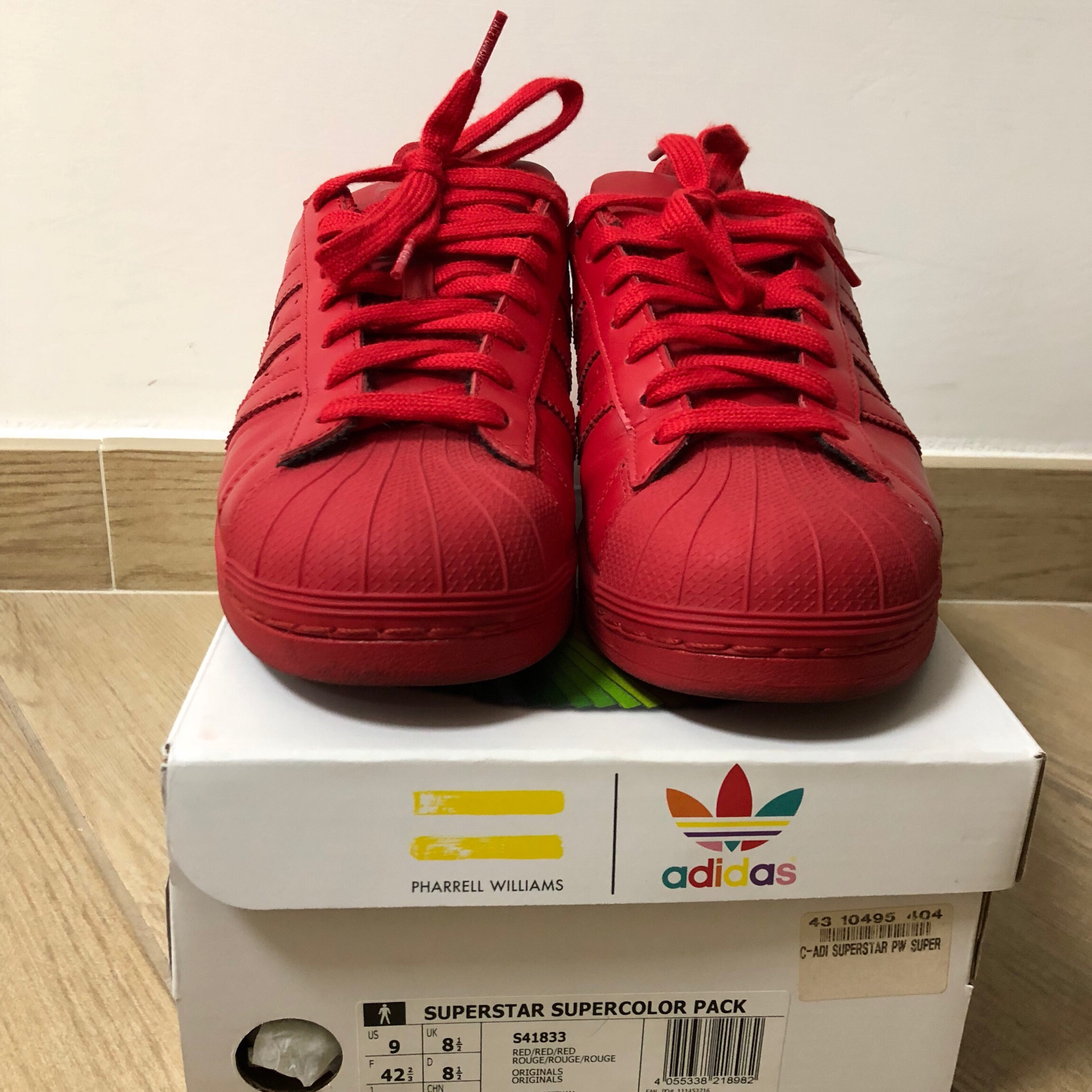 chaussures de séparation 37031 2c94f Adidas Superstar Pharrell Williams Limited