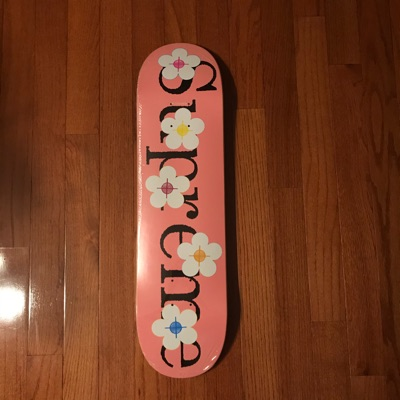 Supreme Flowers Deck Pink