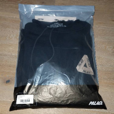 Palace Slub Hood Black