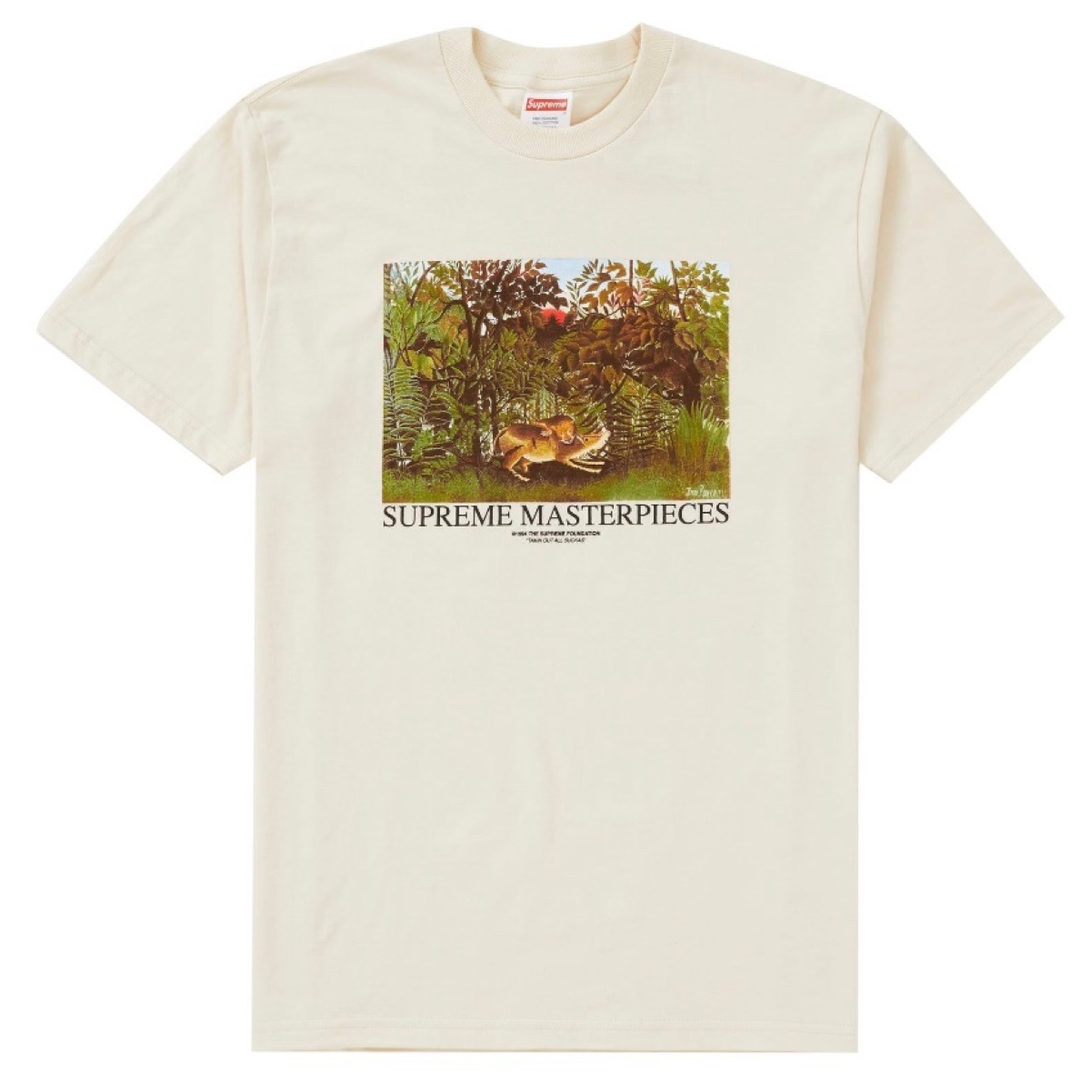 Supreme Masterpieces Tee Natural