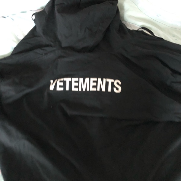 Vetements Oversized Tshirt Coat