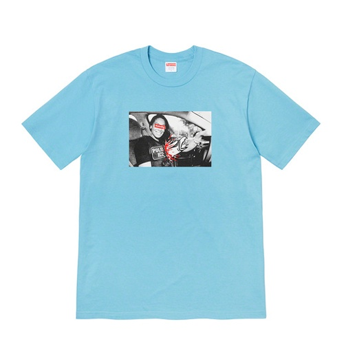 Supreme ANTIHERO Ice Tee Blue