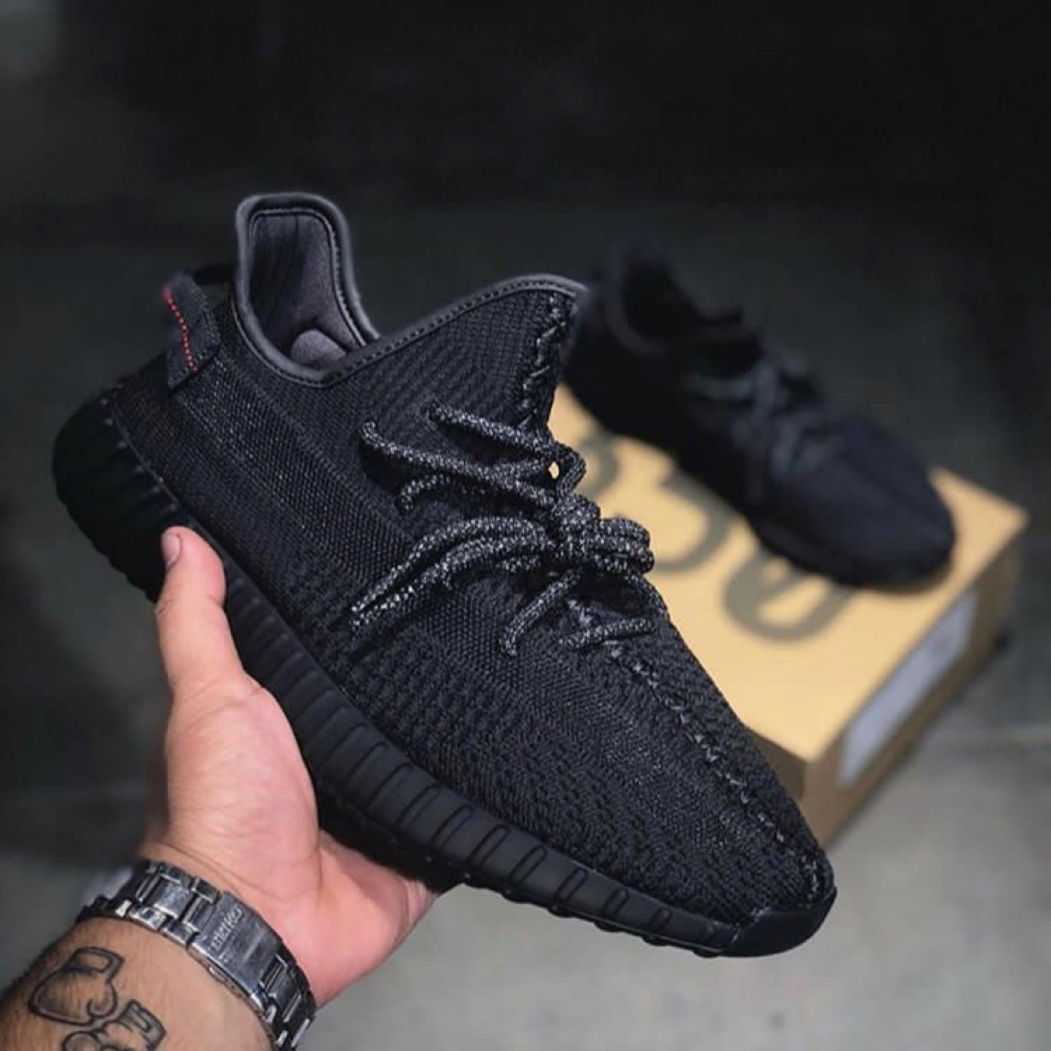 competitive price 66a7a 39276 Adidas Yeezy Boost 350 V2 Static Black