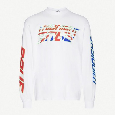 Awge Graphic Print Jersey Top