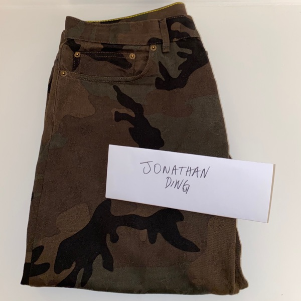 Supreme Louis Vuitton Camo Jeans W34