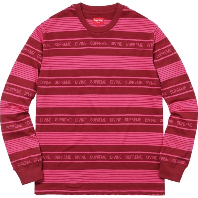 Supreme Divine L/S Top/Shirt - Red