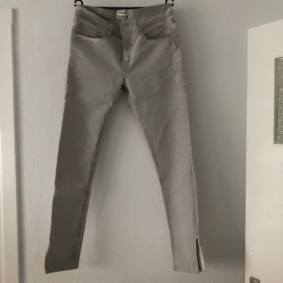Acne Studios Ace Kane Denim Jeans Light Grey