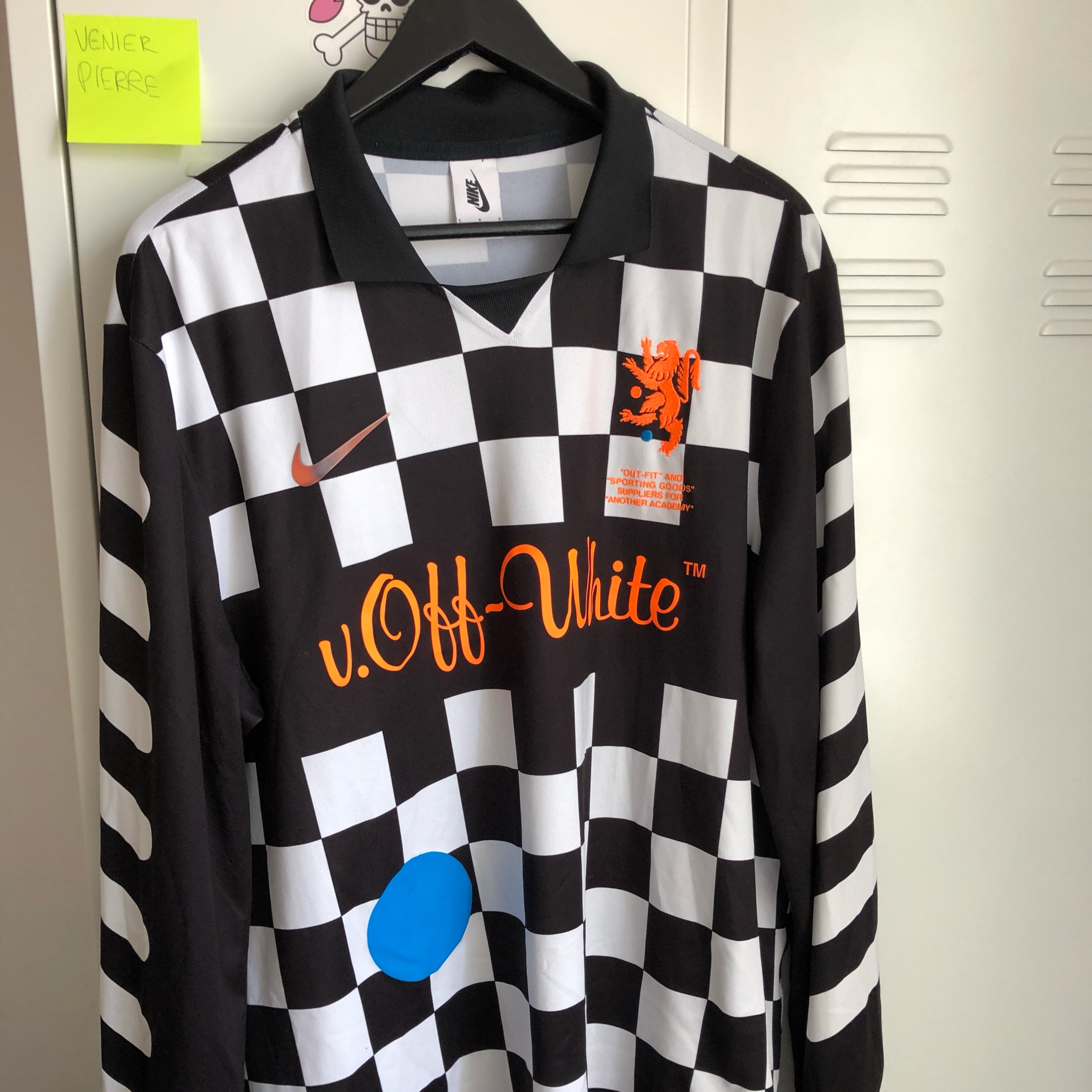 cheap for discount cf424 996cc Nike Off White Football Jersey