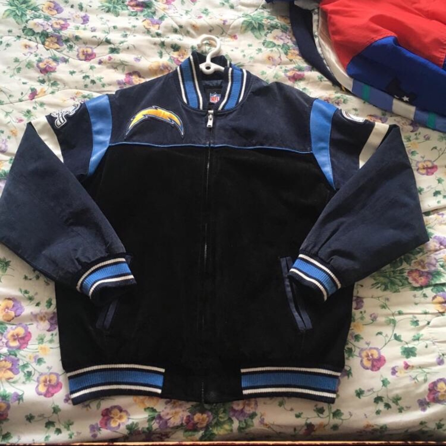 sports shoes 5c656 1a8a8 San Diego Chargers Jacket