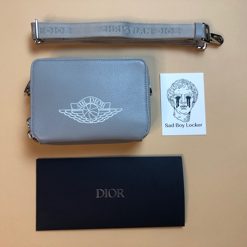 Air Dior Bag Grey
