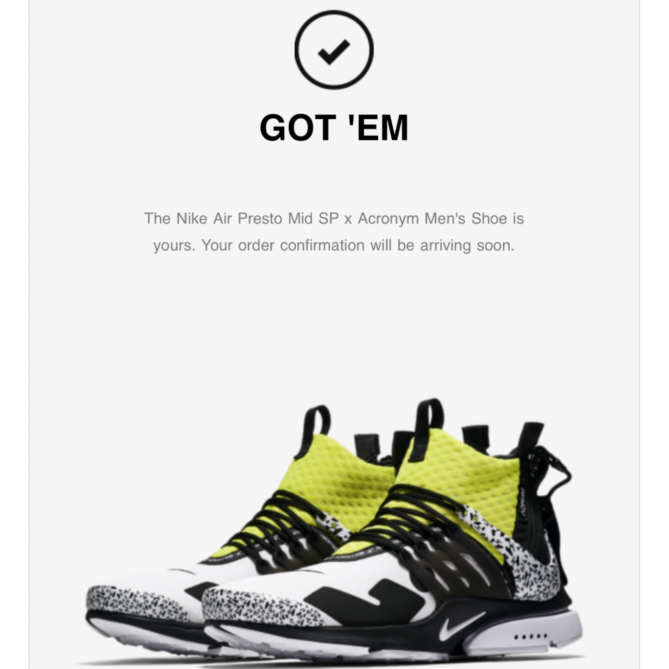 best authentic dcaf5 1733e Nike Air Presto Mid Utility X Acronym   Uk 9