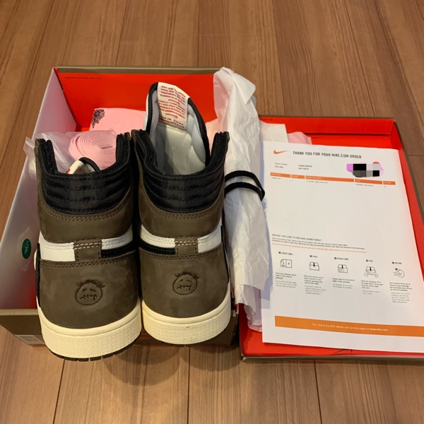Nike Air Jordan1 Travis Scott