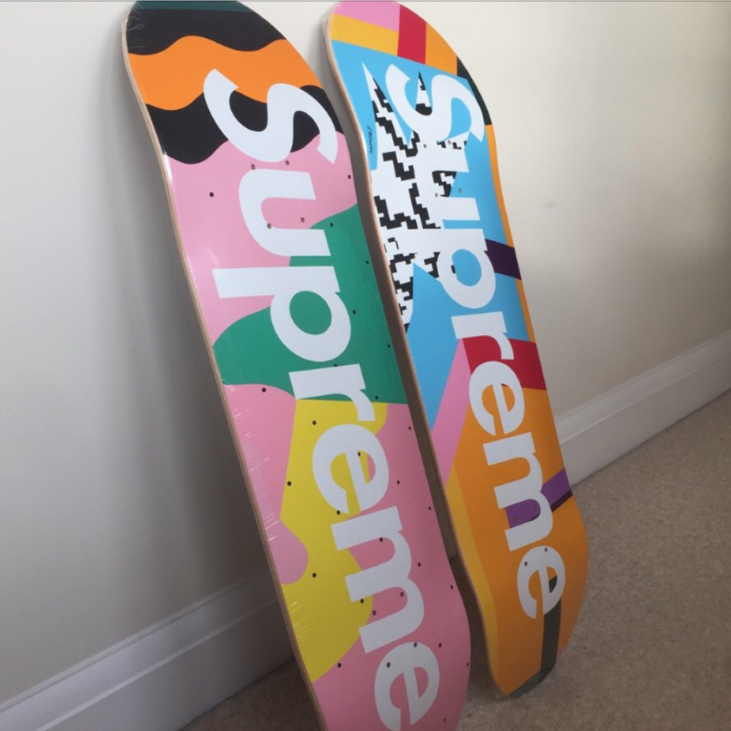 Supreme Mendini Skate Deck Set