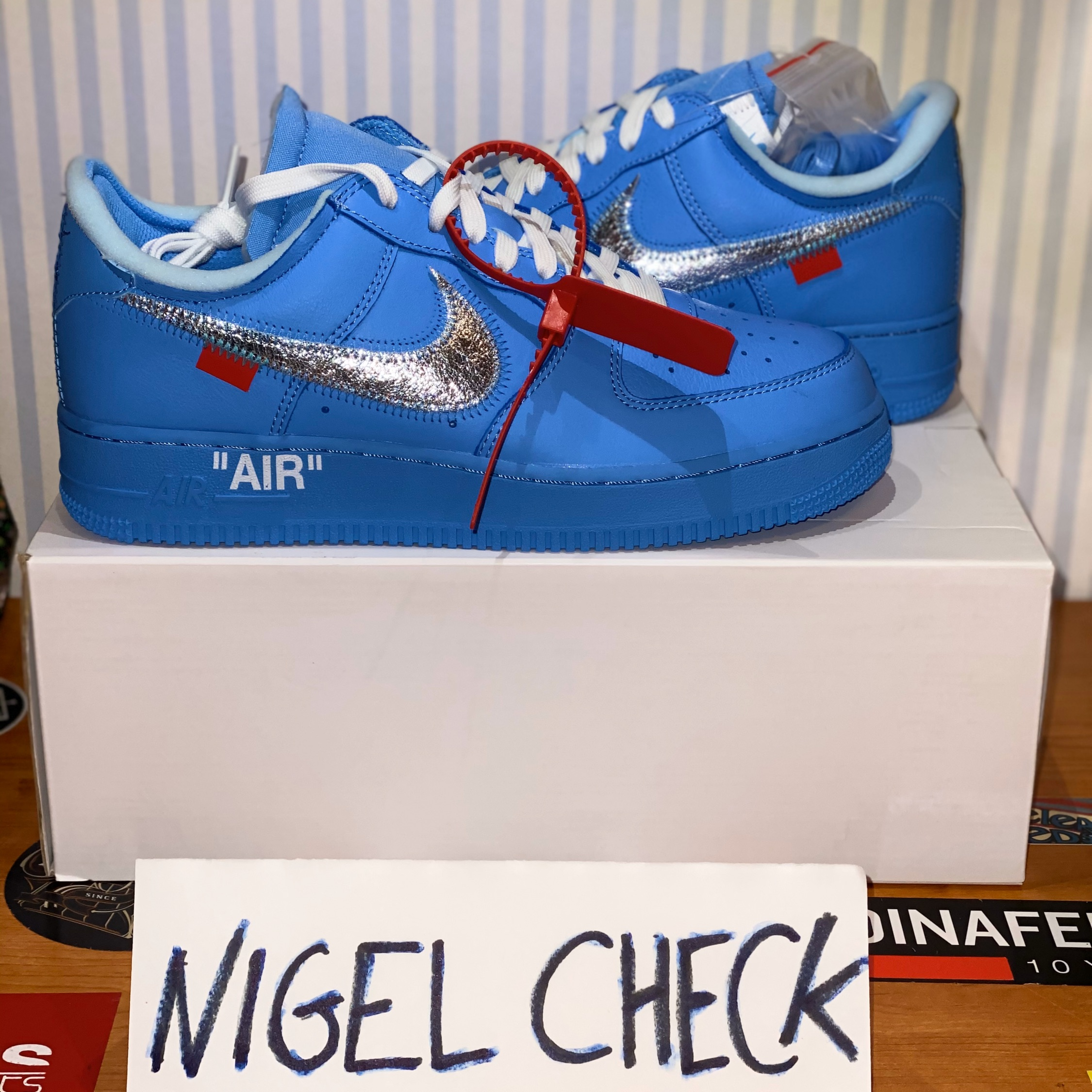Air Force 1 Low Off White Mca University Blue